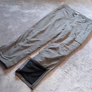 Columbia women's size 14 lined utility pants